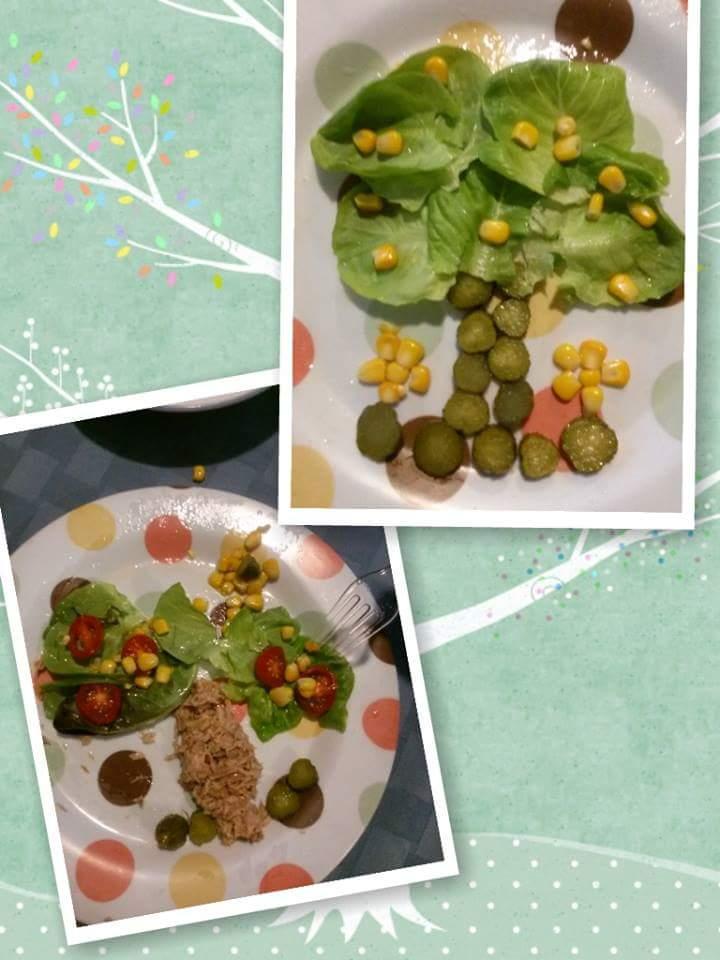 Fun with food, trees