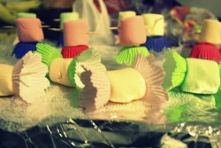 "Marshmallow  ""candies"""