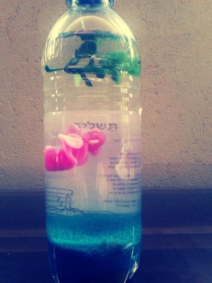 Tashlich in bottle