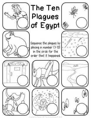 Fill in the 10 plagues