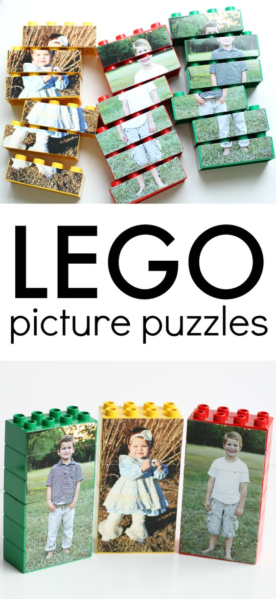 Can make Purim characters lego puzzles