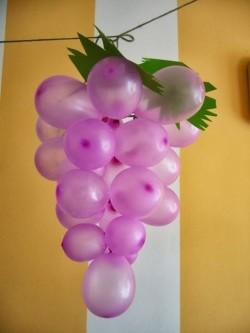 Grape baloons