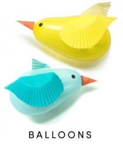 bird baloons