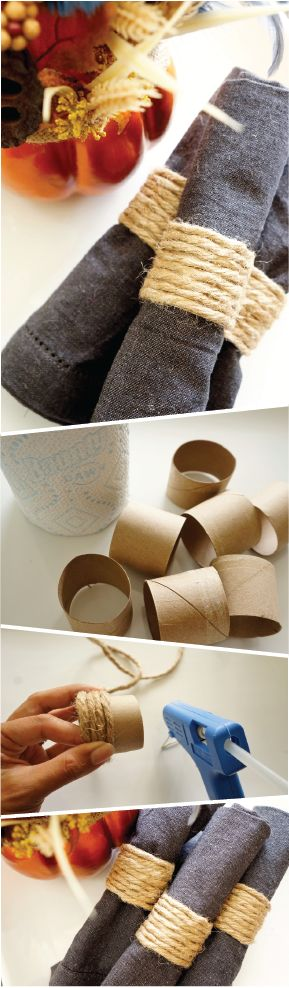Nice napkin rings