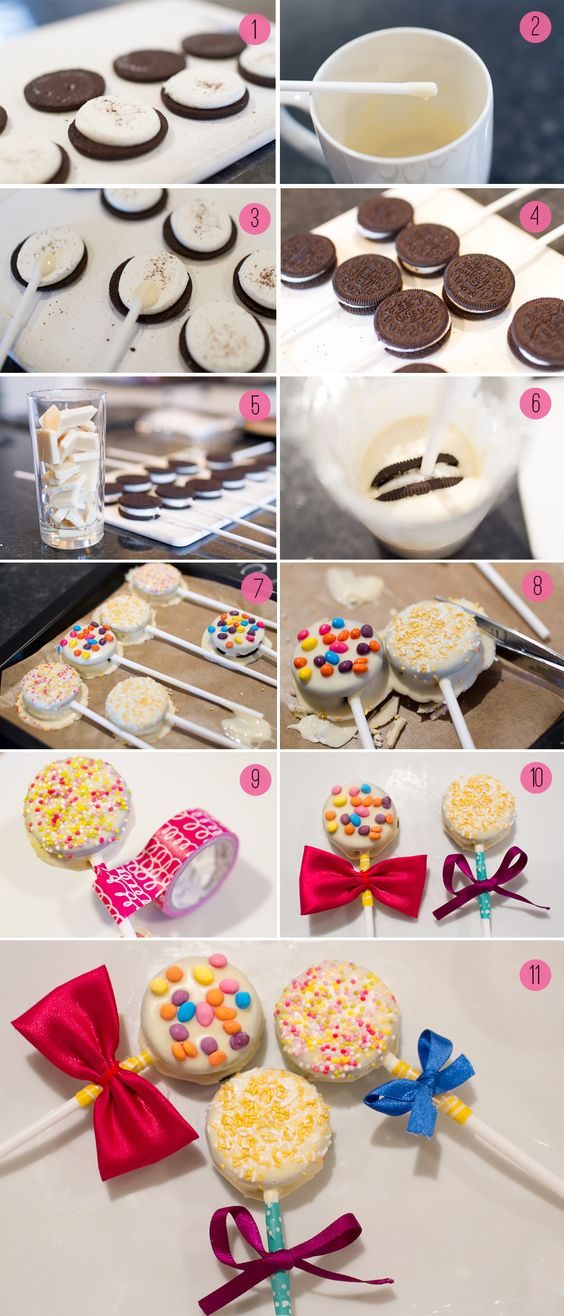 Cookie lollies