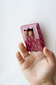 Fingers and matches box puppet show