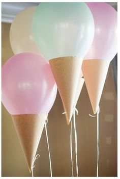 Ice cream baloons