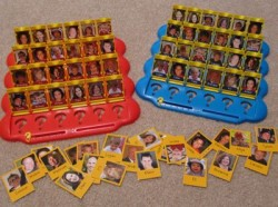 "Personalized ""guess who"" game"