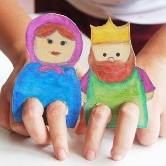 Purim puppet