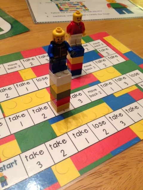 Adding and subtracting lego game