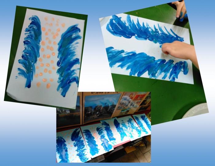 Kriyat Yam Suf kids painting