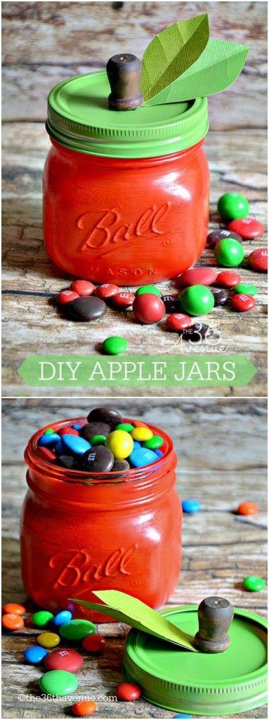 Rosh Hashanah apple/honey jar