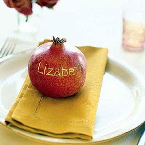 Pomegranate place deco