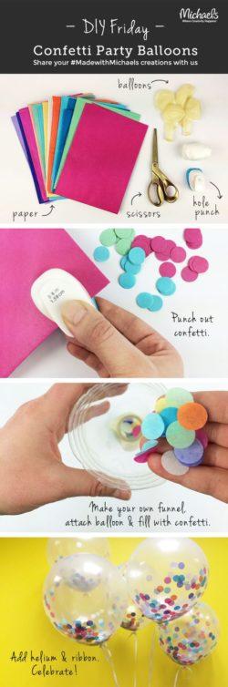 confetti baloon