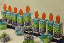 candy menorah