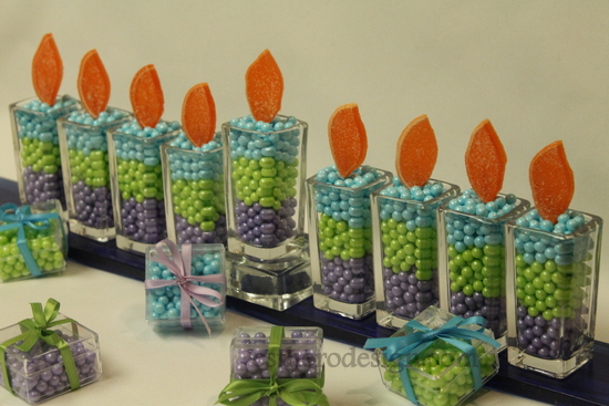 candy menorah