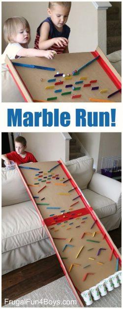 Marble race diy