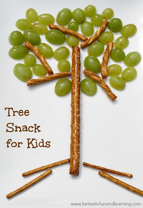 Tu Bishvat snack for kids