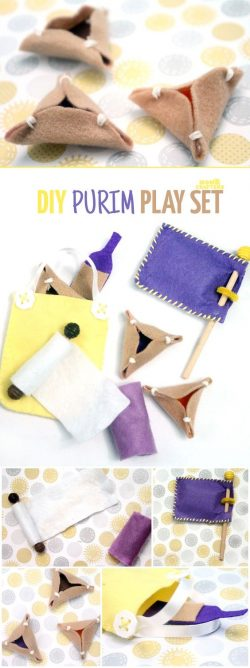 Felt Purim set