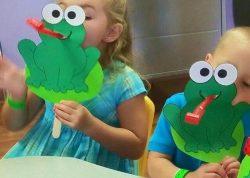 frog mask fun