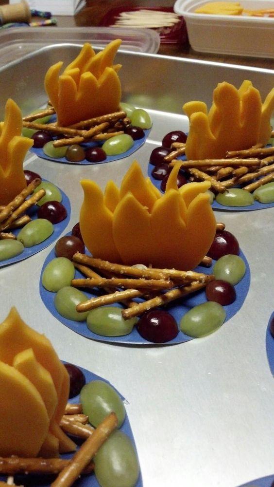 edible bun fire