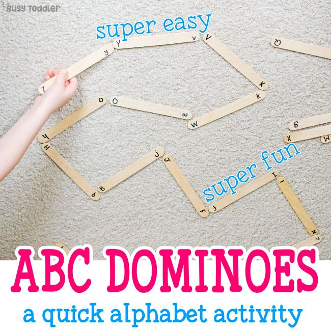 easy to do dominoes