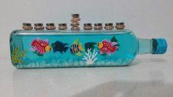 Menora fish tank
