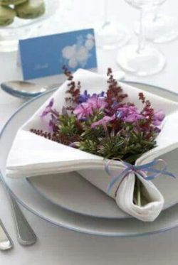 flower table deco
