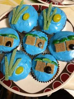 Sukot cupcakes