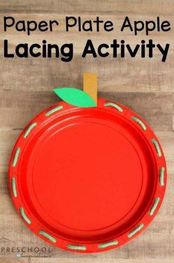 apple plate activity
