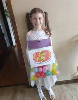 PURIM costume ( jelly beans)