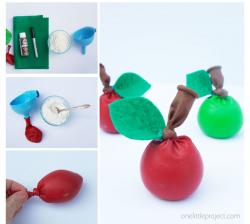 Stress ball apple